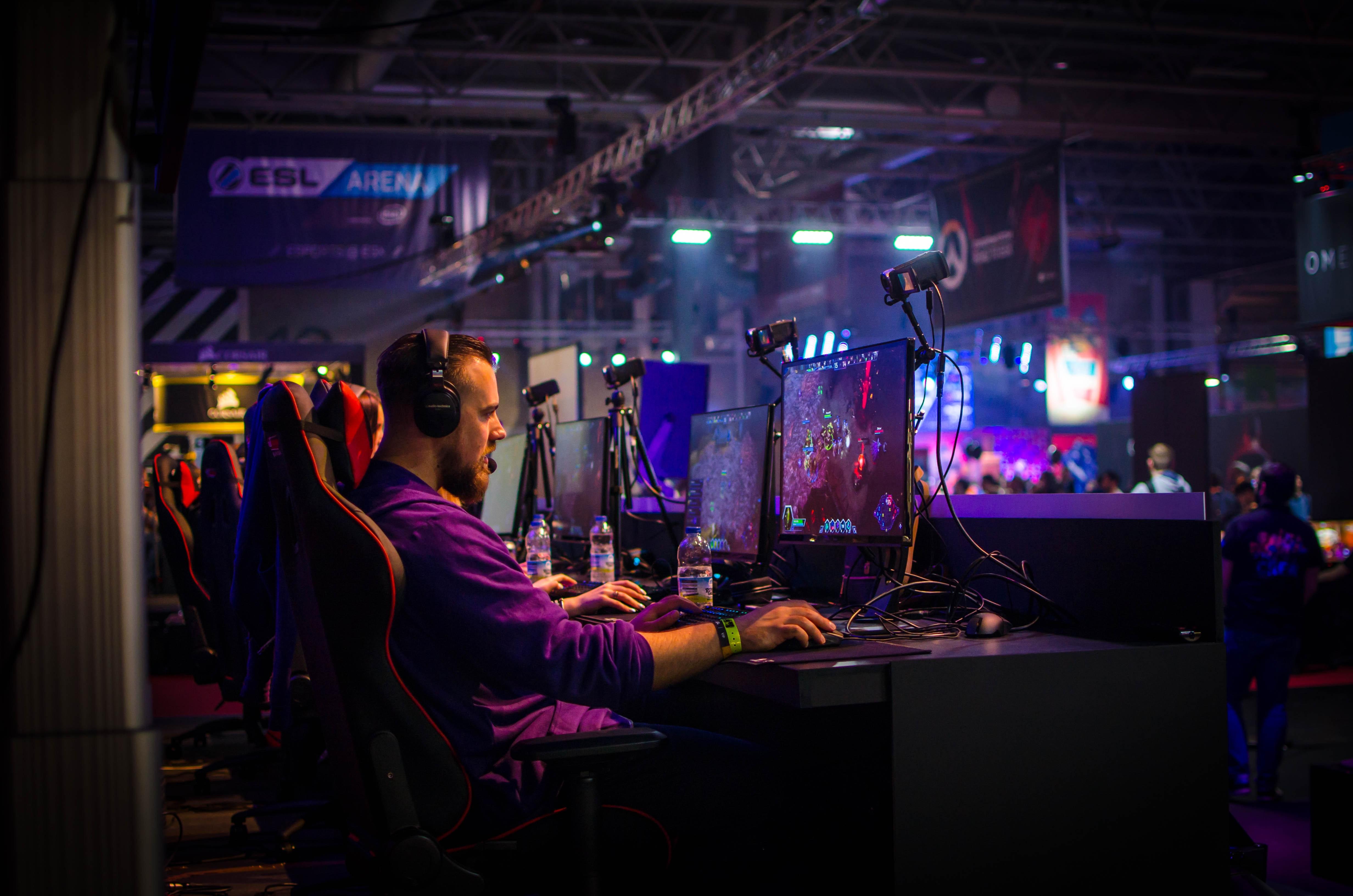 Profesjonell PC-spiller i konkurranse